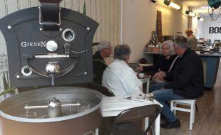 werkbezoek koffiebranderij BOON